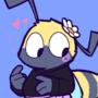 funny bee dude