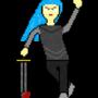 Larissa (pixel art)