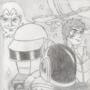 Fanart Friday - Daft Punk Discovery (Interstella 5555)