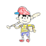 Super Smash Bros. Ultimate Ness Render MS Paint