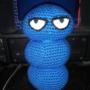 Dreg's blue poop