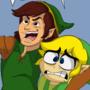 Toon Link Meets Cartoon Link