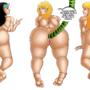 Naomi, Francine, Hayley.