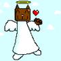Cat Angel by Eggclowns
