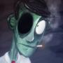 Smokey the Zombie by ctrlaltd1337