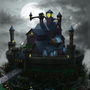 Spooky Castle by ArmyofDorkness