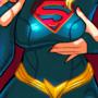 Supergirl Pink Dildo