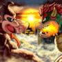 Bowser vs Donkey Kong