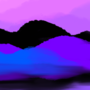Purple Mountains: Digital In Class Doodle
