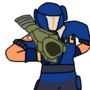 Doodle of Open Fortress Mercenary