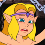 CDI Zelda in peril! and this time she's naked!!