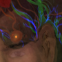 Self portrait with my migraine.