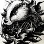 Badger digital drawing 01/04/21