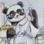 Panda Chemist (Commission)
