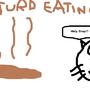 Turd Eating Cat by cabierojaden