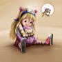 Otaku Girl with Slowpoke