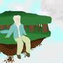 Old Man on the Mountain by PhoenixGodwin