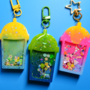 A bunch of shaker charms