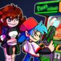 """Boyfriend plays """"Pico's school"""" arcade"""