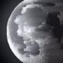 pixel-sorting moon