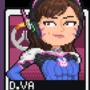 D.Va pixel card
