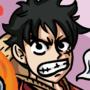 Monkey D. Luffy - Gomu Gomu no red Hawk