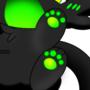 Toxic green chibi