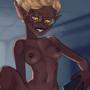 [commission] Vamp girl Lorraine