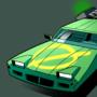 Green Monkey Car