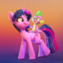 More Twilight and Spike