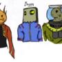 Line Up by azuregaia
