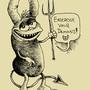 Ink Demon by JWBalsley