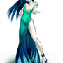 Water dress by Sev4