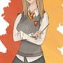 Gryffindor Girl by fire-fish