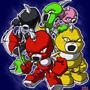Axem Rangers by Masebreaker