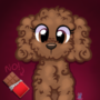 Brown Toy Poodle Art