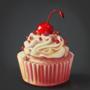 Still life, Cupcake