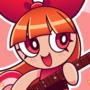 [FANART] Blossom Rockin Da Guitar!