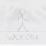 Pencil Animation Exercise: Walk Cycle - WIREFRAME