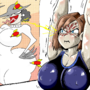 Jill Valentine being jealous of Lady Dimitrescu (Resident Evil)