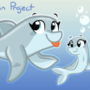 Dolphin Character Project