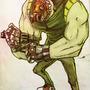 Revolver Mask by FortressRubbish