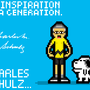 Charles M. Schulz by DarkArtisan
