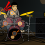 Tap Song Drum Play Screen by Webelinx