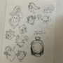 pkmn - sketch sheet