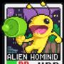 Alien Hominid pixel card