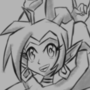 Shantae warmup doodle