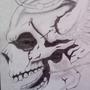 angelic skull by XxTheMadHatterxX