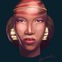 black queen by jagondudo