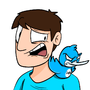 Vic and his Twitter Bird by KaggyFilms